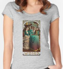 La Magicien - The Wizard Women's Fitted Scoop T-Shirt