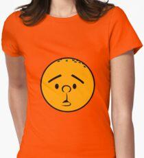 Karl Pilkington - Head like a fucking orange! Womens Fitted T-Shirt