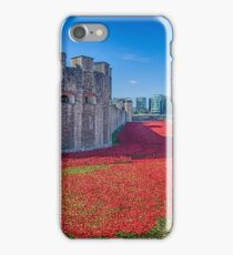 Poppies in the Moat 2 iPhone Case/Skin