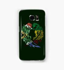 SOUTH AFRICA RASTA WOLF LOVE Samsung Galaxy Case/Skin