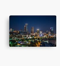 Centennial nights Canvas Print