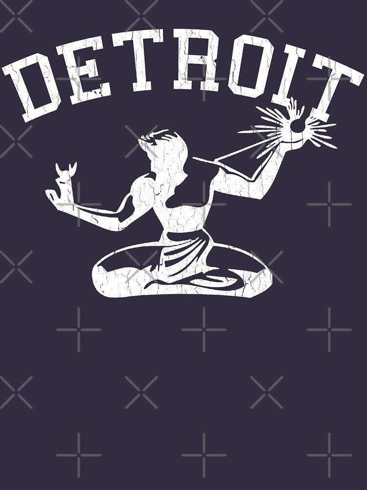 Spirit of Detroit (Vintage Distressed Design) | Unisex T-Shirt