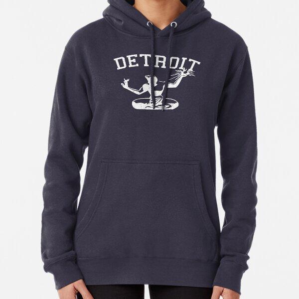 Spirit of Detroit (Vintage Distressed Design) Pullover Hoodie