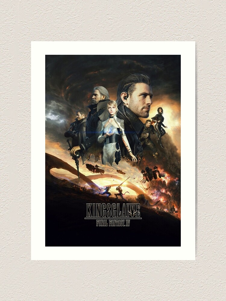 Final Fantasy Xv Kingsglaive 6 Art Print By Patihsuasana
