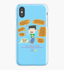 And remind! iPhone Case/Skin