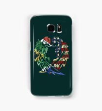 SOUTH AFRICA AMERICA WOLF LOVE Samsung Galaxy Case/Skin