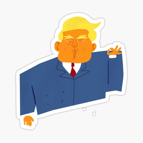 Donald Trump Yuge Sticker