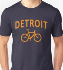 I Bike Detroit Unisex T-Shirt