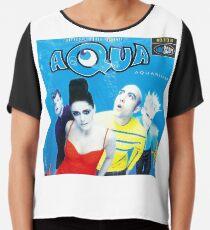 """Aqua """"Aquarium"""" Albumcover Chiffontop"""