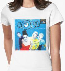 """Aqua """"Aquarium"""" Albumcover Tailliertes T-Shirt"""