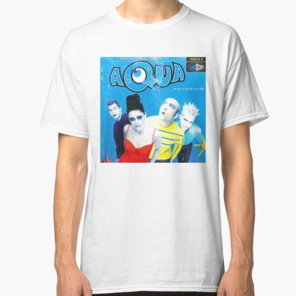 """Aqua """"Aquarium"""" Album Cover Classic T-Shirt"""