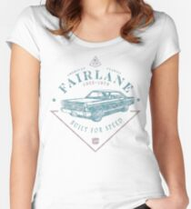 Ford Fairlane 1967 - Built for Speed Women's Fitted Scoop T-Shirt