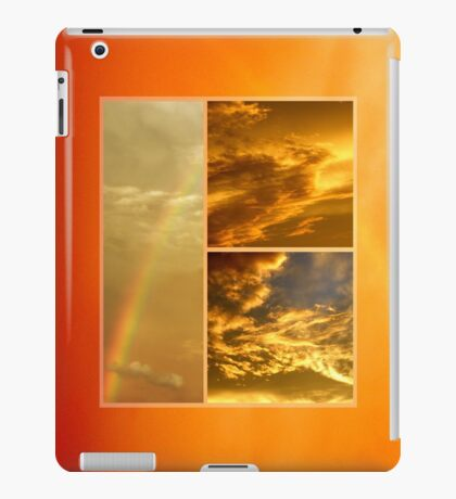 The Dragon and the Phoenix after the rain iPad Case/Skin