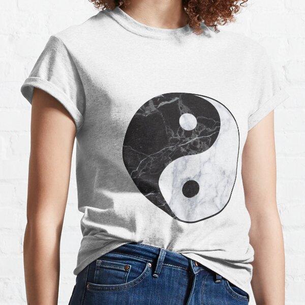 marble yin yang Classic T-Shirt
