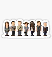 Walking Dead - Hauptsaison 6 Sticker