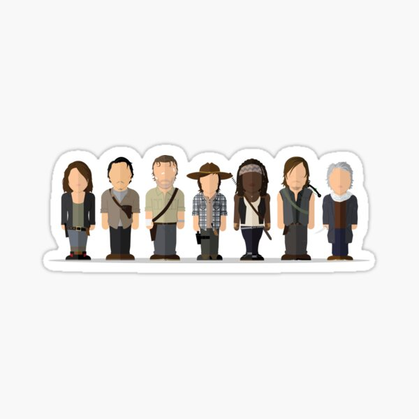 Walking Dead - Season 6 Main Sticker