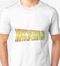 Happy Witness the Birth of Christ Day Logo Unisex T-Shirt