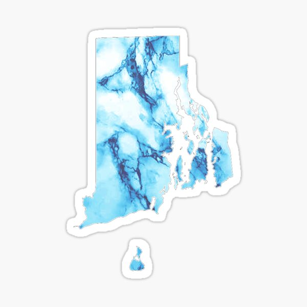 Marble Rhode Island Sticker