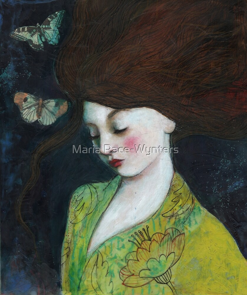 Butterlies At Night by Maria Pace-Wynters