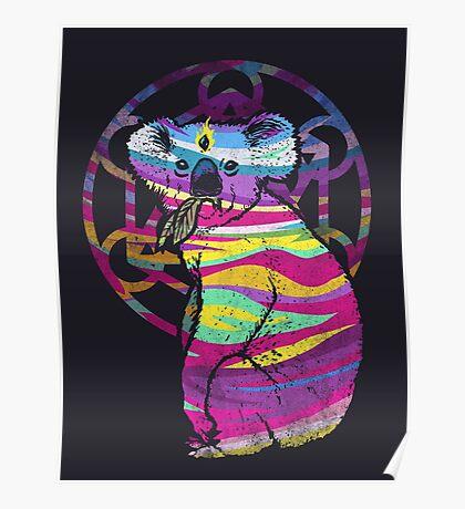 Enlightened Koala  Poster