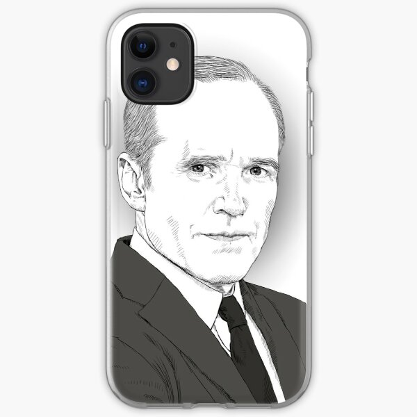 Agent Coulson iPhone Soft Case