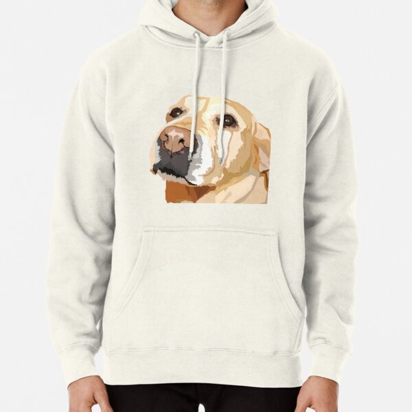 Yellow Lab Pullover Hoodie