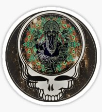 Ganesha: Steal Your Face Sticker