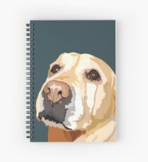 Yellow Lab Spiral Notebook