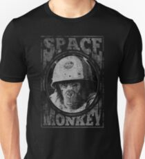 Space Monkey Fight Club Reference Movie Quote NASA Astronaut Unisex T-Shirt