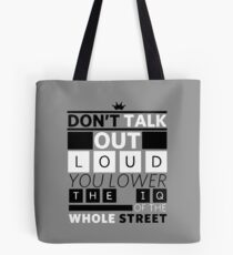 DETECTIVE QUOTES Tote Bag