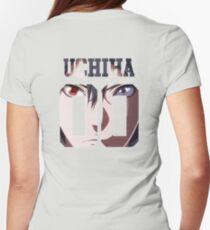 UCHIHA SASUKE Womens Fitted T-Shirt