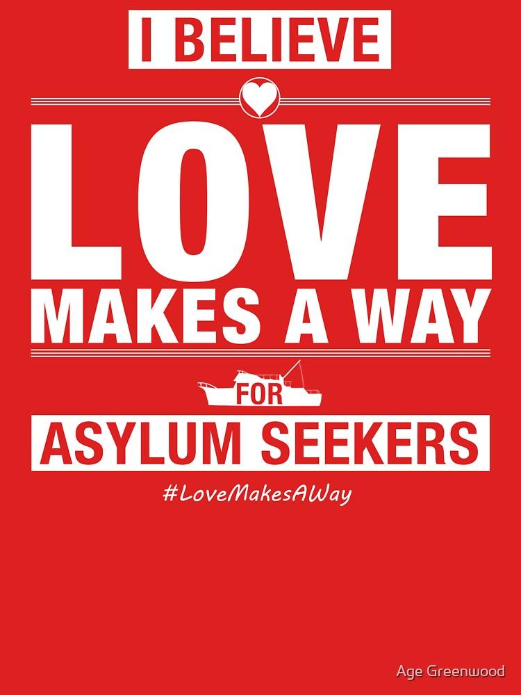 #LoveMakesAWay   Unisex T-Shirt