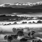 Ovens Valley layers by Kevin McGennan