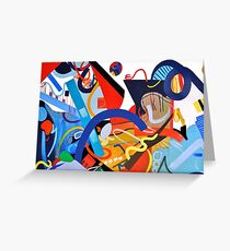 Abstract Interior #5 Greeting Card