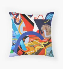 Abstract Interior #5 Throw Pillow