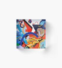 Abstract Interior #5 Acrylic Block