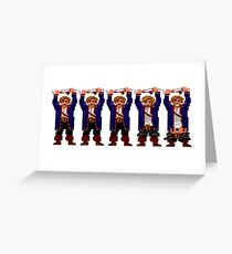 Guybrush Pants Greeting Card