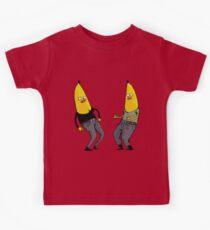 bananas in regular clothing Kids Tee