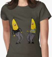 bananas in regular clothing Womens Fitted T-Shirt