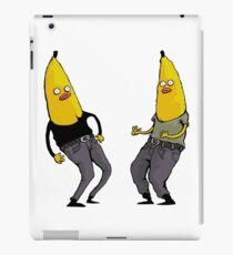 bananas in regular clothing iPad Case/Skin