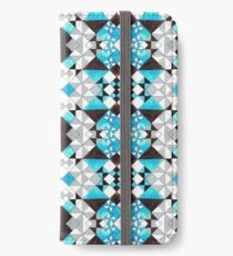 Shape the Void Pattern Design iPhone Wallet