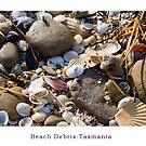 Beach Debris - Postcard by Ricky Pfeiffer