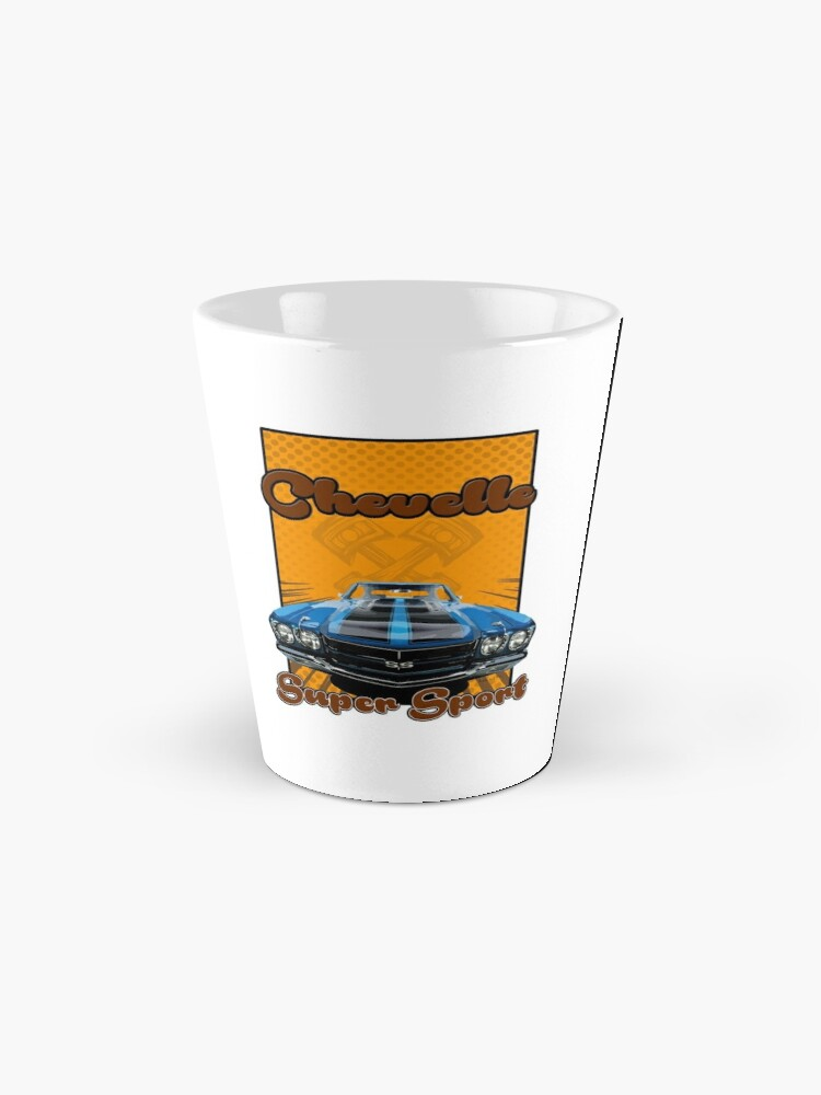 Alternate view of Super Sport chevelle muscle car Mug