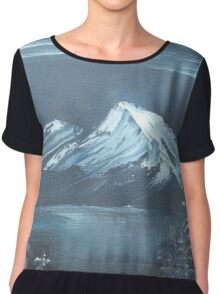 An Evening by the Lake Chiffon Top