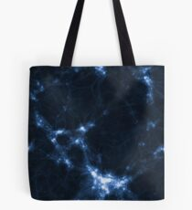 The Cosmic Web (Blue) Tote Bag