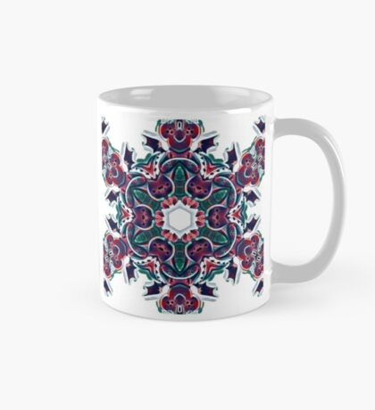 Happy colorful dragon kaleidoscope  Mug