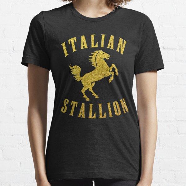 ITALIAN STALLION gold design Essential T-Shirt