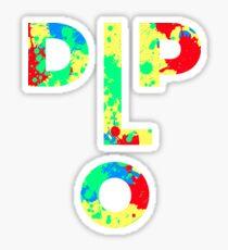 DIPLO FACE Sticker