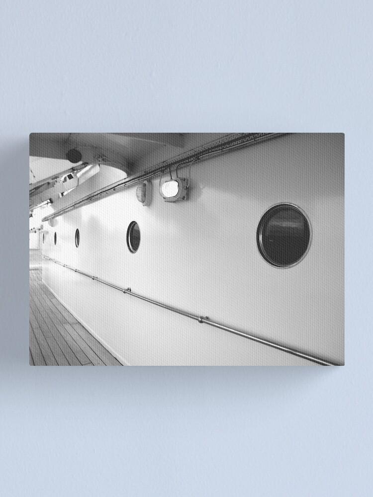 Alternate view of Portholes, Royal Yacht Britannia, Edinburgh Canvas Print