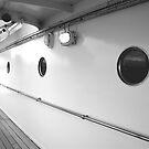 Portholes, Royal Yacht Britannia, Edinburgh by Robert Steadman